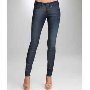 Bebe Signature Stretch Skinny Jeans